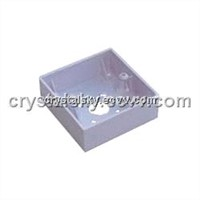 Mortise Back Box (Plastic)