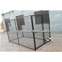 Outdoor Steel Folding Dog Runs/ dog  Kennel with a-Frame Top Manucature