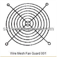 120mm Spiral Industrial fan guard fan grills