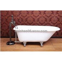 Roll top bathtub