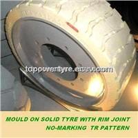 Non-marking Solid Wheel 15x5,14x4.5,12x4.5,12x4,12.5x4.25,16x5 for Scissor Lift