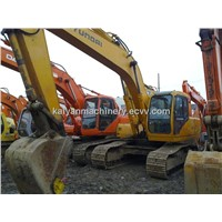 Used Crawler Excavator Hyundai R200W-5 Original Oil Paint
