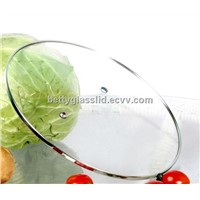 20cm C type tempered glass lid for cookware pots