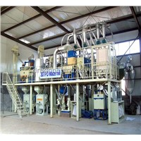 maize mill 30TPD 50TPD 100TPD complete maize mill