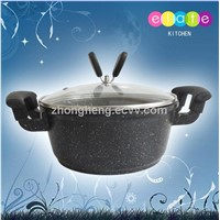 Aluminum Non -Stick Sauce Pot with Ceramic Coating