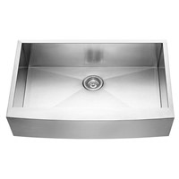 Apron Handmade stainless steel sink