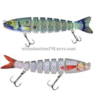 Artificial jointed fishing lures artificial trout lures wholesale fishing tackle