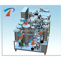 Black motor oil recycling machine with most advanced technology, get base oil, environmental