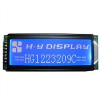 COB Serial Graphic LCM Modules with VDD, VLED = 3.3V and ST7920 Driver