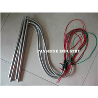 Cartridge heater with Stainless Steel Flexible Conduit