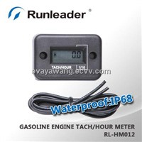Digital Hour meter tachometer tach digital hour meter for 2 or 4 stroke gasoline engine