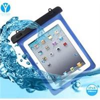 Good quality Blue PVC waterproof bag for ipad