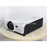 High Quality 7000 Lumens 3LCD Projector with Wifi Outdoor Projector support edge blending