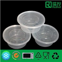 High Quality Plastic Food Container for Packing 750ml