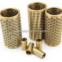 High quality brass bearing ball cages with hardened SUJ2 balls
