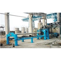 Hot Sale Suspension Roller Type Concrete Pipe Making Machine