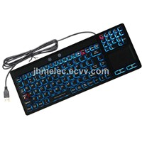 Industrial keyboard waterproof LED touchpad