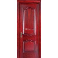 Interior wood door with solid wood infilling, MDF and  veneer LBD-602