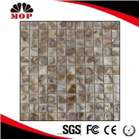 MOP-C19 Colourful Background Wall Shell Piece Tile