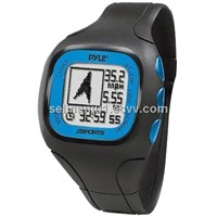 PSWGP405BL GPS Watch with Heart Rate Transmission Navigation Speed