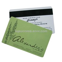 PVC card printing,PVC Gift card full color printing,ISO CR80 card