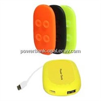 Portable power with suction cups,capacity on 4000mAh