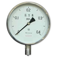 Pressu Gauge with stainless steel case(Y-100A)