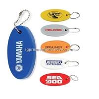 Promotional Key Ring EVA/Float Key Chain Custom Keyring Logo Keychain