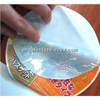 Removable Static Cling Sticker with PE/PVC/PP Materials, Customized Specifications are Welcome