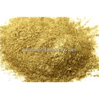 Rich-pale gold of Bronze powder for ink/paint (newcolorchem)