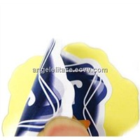 Self adhesive PVC Label Sticker/Decal with Screen Printing, Water- and Slip-resistant