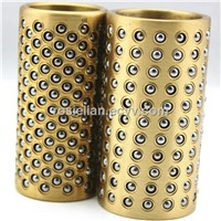 Standard brass alloy ball bearing cages for die sets