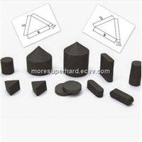 Thermally stable polycrystalline diamond TSP inserts used for protecting drill diameter