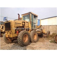 Used CHAMPION 720A Motor Grader Original Color & Paint & Canada