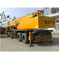 Used Japan KATO NK500E-V/KATO 50Ton/T Truck Crane In Good Condition
