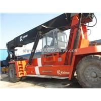 Used  Kalmar DRF450-650S6 / Kalmar Reach Stacker / Container  Reach Stacker
