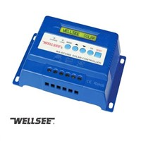 Wellsee WS-SC2460 three -stage solar charge controller,voltage regulator 60A with LCD