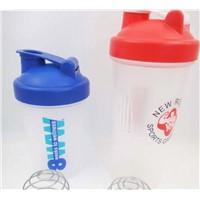 Wholesale custom Protein shaker blender bottles/cups With Ball 400ML/500ml/600ml/700ml/800ml