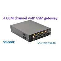 cdma gateway with 4 channel low price gsm module