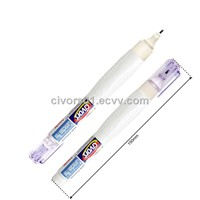 correction pen, correction liquid, correction fluid, metal tip, 8ml(civors-024)