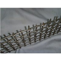 crimped wire mesh as vibrating screen