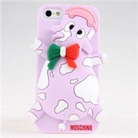 fashion and new 3D silicone Elephant desgin  cases for iphone 5G with practical accessory
