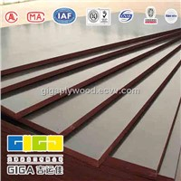 hot sell 18mm waterproof marine veneer brown or black film faced plywood