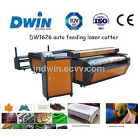 Leather Cloth Cutting Co2 Laser Cuting Machine DW1616