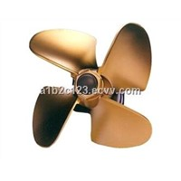 precision casting copper impeller