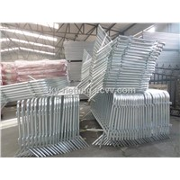 Steel Bicycle Crowd Control Barricade Rental Professional Factory