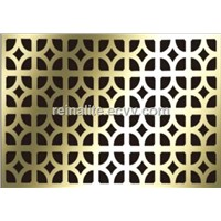 wall cladding aluminum perforated panel