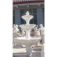 White Marble Statue Fountain,Han White Marble Sculpture Fountain