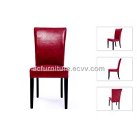 wooden chair,PU chair,fabric chair