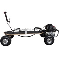 49cc Gas Powered 4 Wheel Skate-Board